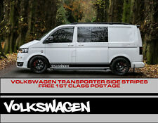 Volkswagen VW Side Stripes Decals Transporter T4 T5 Campervan Vehicle Graphics