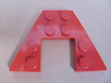 LEGO 43719 @@ Wedge, Plate 4 x 4 (x1) @@ RED @@ ROUGE