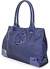 Tory Burch 'Mini Ella' Nylon Tote, BLUE - Pre-owned (See Condition) $175
