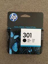 Genuine HP 301 Black Printer Ink - BNIB