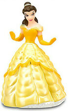 BELLE Disney BEAUTY AND THE BEAST PRINCESS PVC TOY Figure CAKE TOPPER FIGURINE!