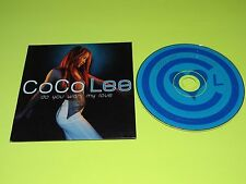 COCO LEE Do You Want My Love RARE 6 Track REMIX Promo CD Kenny Diaz/Hex Hector