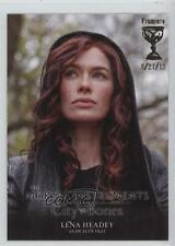 2013 Characters Premiere Day Gold Chalice #11 Lena Headey as Jocelyn Fray 2q1