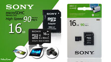 16GB Genuine Sony Micro SD Memory Card For Samsung Galaxy A3 J1 Mobile Phone
