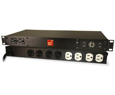 BrickWall PWRM20AUD 20A 120V Audiophile 10 outlet Surge protector (Plug is 20A)