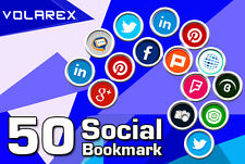 SEO social BOOKMARK to 50 sites for your website blog or youtube video