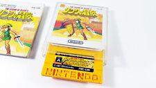 The Legend of Zelda 2 NINTENDO FAMICOM Disk System FDS GAME JP gioco FMC-LNK VG