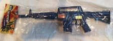 Vintage 1970's AR-15  TOY Assault Rifle  Machine Gun with Sparks and Sound