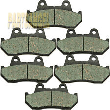 Front Rear Carbon Kevlar Brake Pads 1984 1985 1986 1987Honda GL1200 A I Goldwing