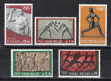 GREECE 1972 MUNICH OLYMPIC GAMES MNH VL.1179/1183