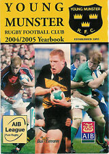 Young Munster v Dolphin 16 Oct 2004 Tom Clifford Park RUGBY PROGRAMME