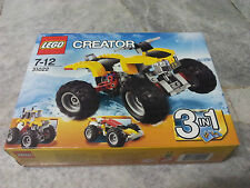 LEGO CREATOR 31022 Turbo Quad 3In1 New MISB