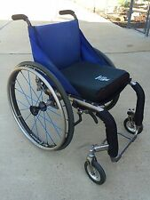TiLite ZRA Titanium Ultralight Manual Wheelchair - Ti-Lite S/N:11462