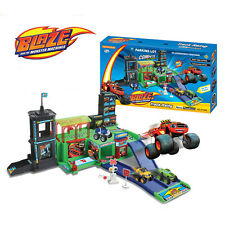 Blaze and the Monster Machines Parking Lot Playground Kids Children Boy Girl Toy