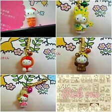 Cute Hello Kitty  Anti Dust Plug Charm for iphone/Android 3.5mm -Pick One-