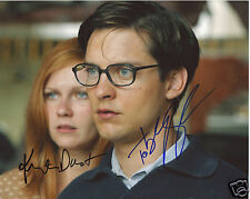 SPIDERMAN - KIRSTEN DUNST & TOBEY MAGUIRE AUTOGRAPH SIGNED PP PHOTO POSTER