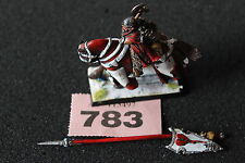 Games Workshop Warhammer Bretonnian Battle Lord Axe Metal Painted Bretonnia OOP
