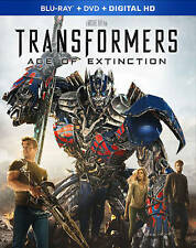Transformers: Age of Extinction(Blu-ray+DVD+ Digital )Free Shipping no slipcover