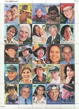 FACE OF AUSTRALIA 2000 - MUH SHEETLET (B60-RR)