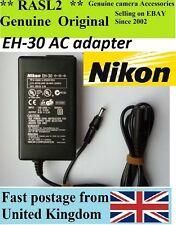 Genuine Original NIKON AC Adapter EH-30 Coolpix 700 750 775 800 900 950 990 600