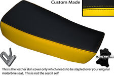 YELLOW & BLACK CUSTOM FITS HUSQVARNA CR 250 430 500 1983 ALLY TANK SEAT COVER