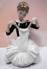 MY DEBUT DRESS FEMALE BALLERINA DANCER FIGURINE 2014 BY LLADRO #8771
