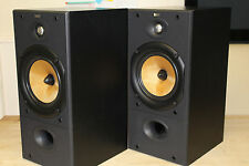 B&W DM602 S2 Main / Stereo Speakers With Brand New Tweeters Fitted