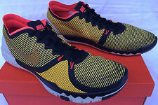 Nike Free Trainer 3.0 V4 AMP 749374-800 Lazer Marathon Running Shoes Men's 14
