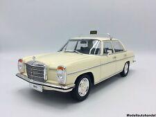 Mercedes 220 D /8 Strich 8 (W115) Taxi 1973 -  beige - 1:18 MCG     NEUHEIT
