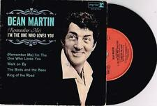 """DEAN MARTIN - I'M THE ONE WHO LOVES YOU - RARE 7"""" 45 EP RECORD w PICT SLV - 1965"""