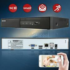 8CH 1080P H.264 IP P2P Cloud Network NVR Digital Video Recorder Onvif USB K5M8