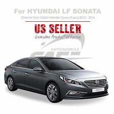 Chrome Door Catch Handle Cover Molding Tape On for Hyundai LF Sonata 15-16 NEW