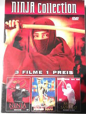 Ninja Collection 3 Filme - Ninja Kids - Blood Fighter - Ninja Samurai - OVP!!!