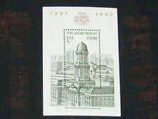 DDR 1986 Block 84 postfrisch 3027 ** Bauwerke - Haus des Ministerrats