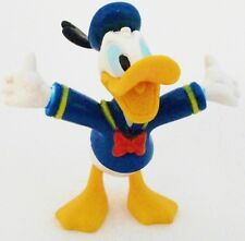 DONALD DUCK Walt Disney MICKEY MOUSE CARTOON PVC TOY Figure CAKE TOPPER FIGURINE