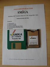 Trasferimento Kit . adf PCMCIA CF Compact Flash Commodore Amiga 600 o 1200.