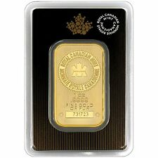 Royal Canadian Mint 1oz Gold Bar - New Style