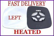 VW CADDY  2003+ WING MIRROR GLASS CONVEX HEATED LEFT
