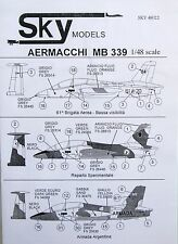 Skymodels 1/48 48022 Aermacchi MB339 decal set
