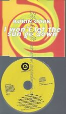 CD--COOK,ROBIN--I WON'T LET THE SUN GO DOWN ON