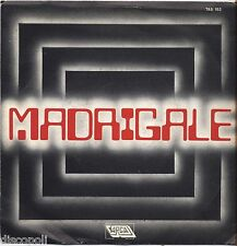 "MADRIGALE - Omonimo - VINYL 7"" 45 LP 1982 NEAR MINT COVER VG+ CONDITION"