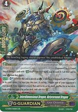 CARDFIGHT VANGUARD: INTERDIMENSIONAL DRAGON, HETEROROUND DRAGON G-CB04/008EN RR