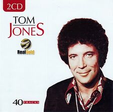 TOM JONES : REAL GOLD / 2 CD-SET - TOP-ZUSTAND
