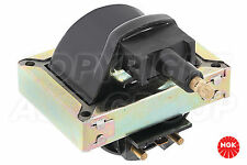 New NGK Ignition Coil For VOLVO 400 Series 480 1.7 Injection  1987-88