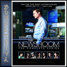 THE NEWSROOM - THE COMPLETE SERIES - SEASONS 1 2 & 3 **BRAND NEW DVD BOXSET ***