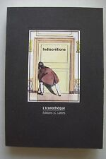 Indiscretions L'Lconotheque 36 planches erotiques 1990 Erotik