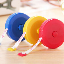 1x Random Color Retractable Tape Measure Sewing Dieting Tapeline Ruler Tiny Tool