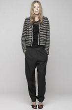 FINAL PRICE: Isabel Marant Barte £650 Lurex Stripe Chunky Jacket New FR40/UK12