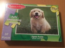 Melissa & Doug Golden Retriever Puppy 30 Piece Puzzle (See Description)