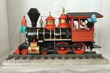 "Disney WDCC ""I have always loved trains"" Theme Park Train w/Engineer Mickey"